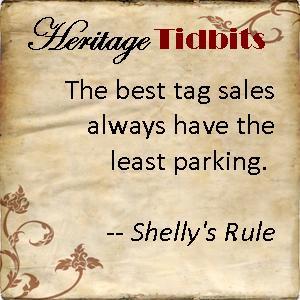 Heritage Tidbits 1
