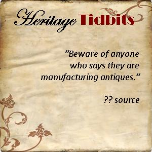 Heritage Tidbits 23