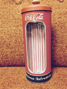Coke Straw Dispenser - Front