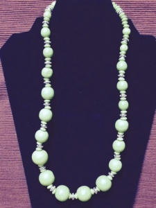 Necklace - green