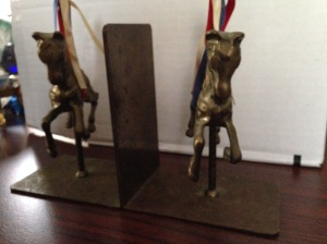 Bookends - Carousel Horses 2