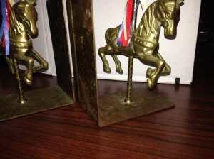 Bookends - Carousel Horses 3