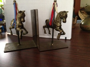 Bookends - Carousel Horses 6