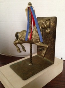 Bookends - Carousel Horses 9