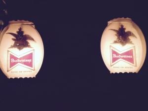 Bud Light Lamps