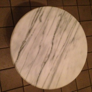 Marble Top Table 1
