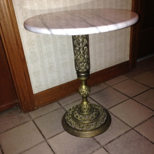 Marble Top Table 5