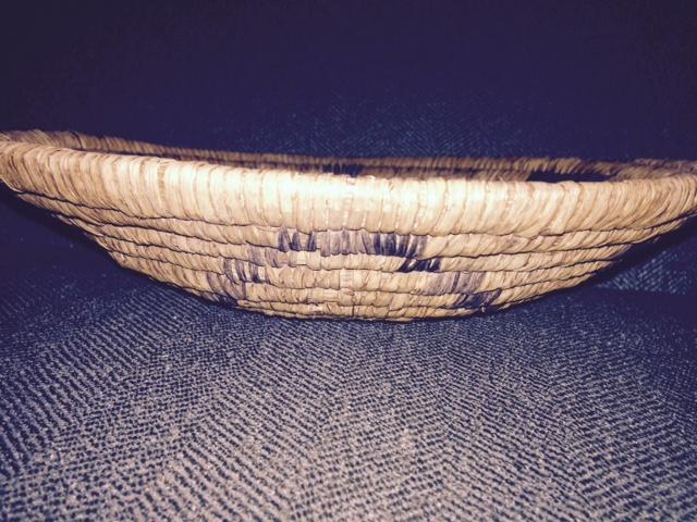 Native American Woven Basket Bowl 35 00 Heritage