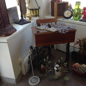 Foyer - Entering Heritage Collectibles' New Shop at 189 Main Street in Lewiston