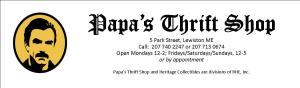 Papa's Logo & Header