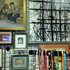 Ship's Mast, Framed