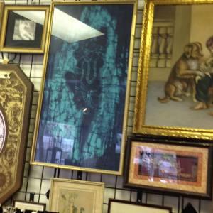 Vintage Framed Thai Silk Art