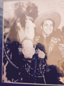 Autographed Photo of The Cisco Kid (SOLD)