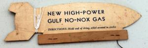 Gulf Gas Advertising Zeppelin 2