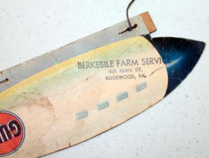 Gulf Gas Advertising Zeppelin 3