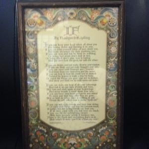 If, by Rudyard Kipling. My absolutely favoritest poem ever.