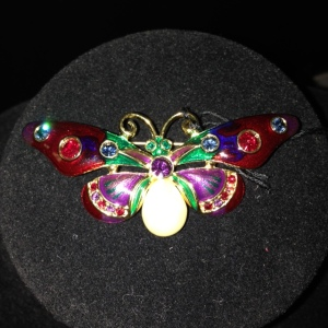 Joan Rivers Butterfly $40