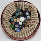Lot of interesting marbles