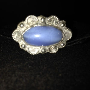 Pendant with Blue Stone, no chain $20