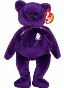 According to thestreet.com, this Princess Diana Beanie Baby could be worth investing in - yet a review of one of our subscription websites shows that the actual selling price of the nearly 2400 Diana bears that have sold recently have gone for less than $40,