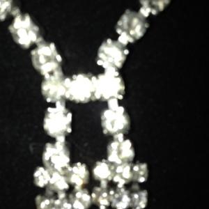 Rhinestone Necktie $65 - not the best close up