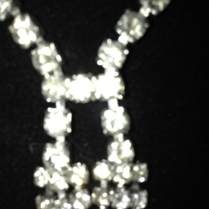 Rhinestone Necktie $65 - not the best close up