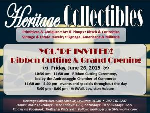 Ribbon Cutting Invitation - Single