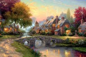 Thomas Kinkade paintings may appeal to our sense of fantasy but they're not your best investment option
