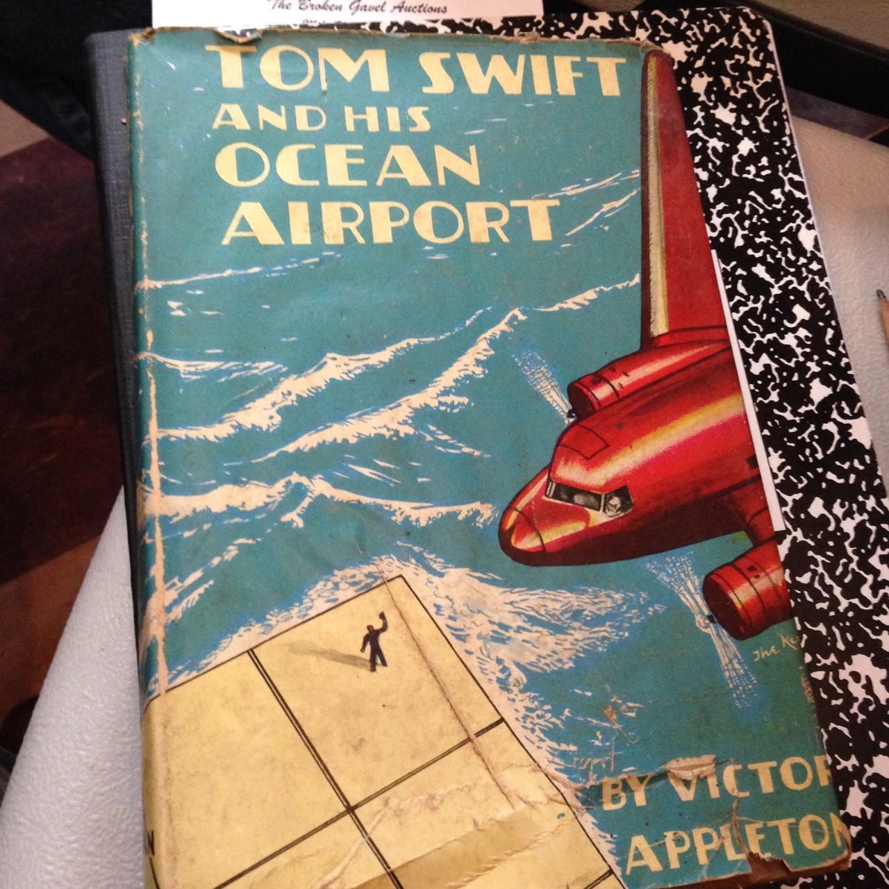 tom swift and his repelatron skyway by victor aplpleton 11 HB ex con