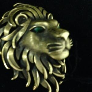 Trifari Lion's Head Pin $30