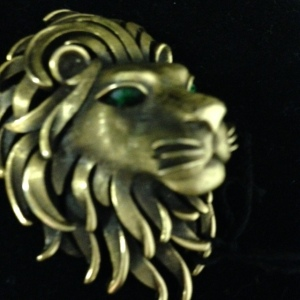 Trifari Lion's Head Pin $30