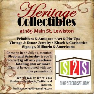 Shop 2nd Saturday!