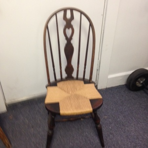 Chair, Caned Seat with Pattern