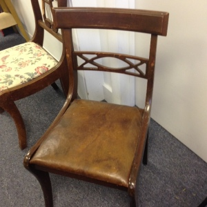 Chair, Leather Seat, 2nd