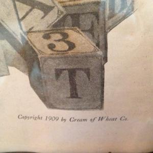 Cream of Wheat - Girl & Blocks 3