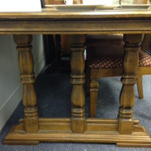 Dining Table Pedestal Legs 2