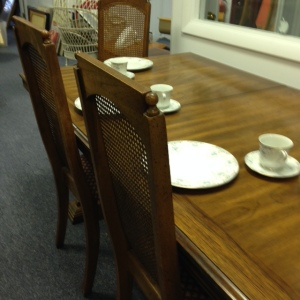 Dining Table Showing 3 of the Chairs
