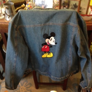 Mickey Jacket Back