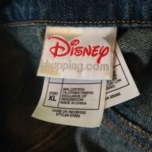 Mickey Jacket Tags