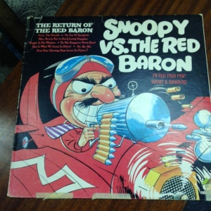 Snoopy vs Red Baron Cover