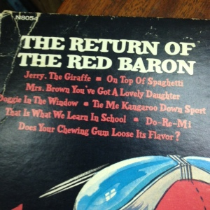 Snoopy vs Red Baron Songs Close Up
