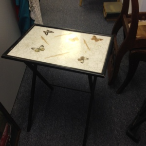 TV Tray - Butterfly Pattern