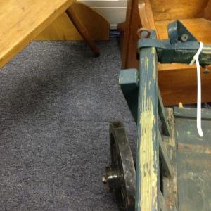Vintage Cart - Front Left Side from Above