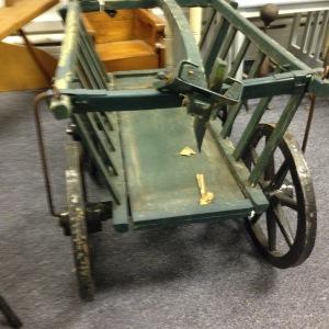 Vintage Cart - Full Rear View