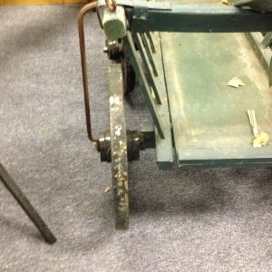 Vintage Cart - Rear View