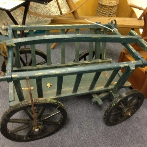 BEFORE - Rustic Old Goat Cart