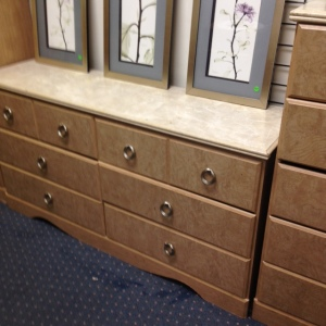 Bedroom Set - Long Dresser 3