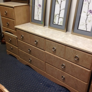 Bedroom Set - Long Dresser 4