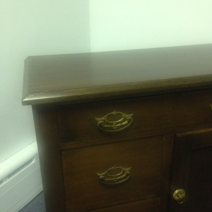 Chest, Small - 3 drawer + cabinet 2nd