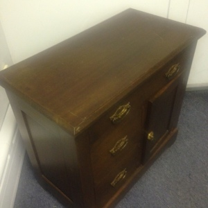 Chest, Small - 3 drawer + cabinet 3rd